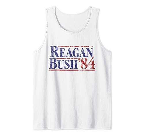 Reagan Bush '84 Vintage Tank Top (Tops Bush)