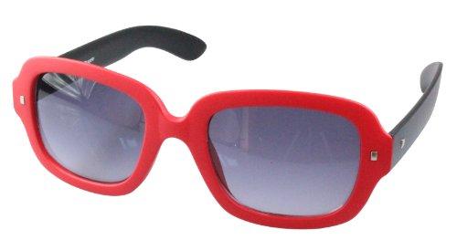 Schwarz monture Rot de Lunettes couleurs 80's retro Wayfarer soleil Matt style differentes xwPfwCZq