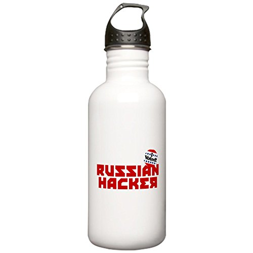 CafePress - Russian Hacker Stainless Water Bottle 1 - Stainless Steel Water Bottle, 1.0L Sports Bottle]()
