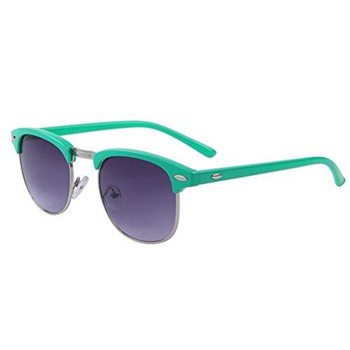 Fashion Women Retro Rivet Sunglasses Classic Brand Designer Unisex Sunglasses UV400 (Brown, - Sunglasses Chili Bean