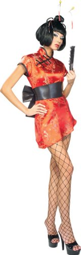 Secret Wishes Women's Japanese Lady Adult Costume, Multicolor, Medium