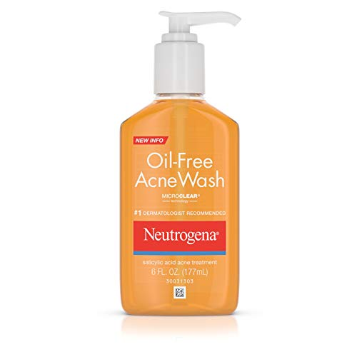 Neutrogena Oil-Free Salicylic Acid Acne Treatment Acne Wash-6 oz