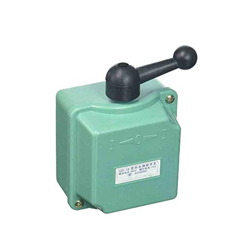 380V 15A Rotary Control Forward Reversing Drum Switch Cam Starter ()