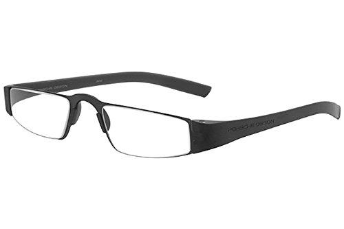 PORSCHE DESIGN P 8801 Eyeglasses Readers Black Black 2 ()