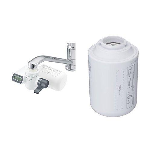 1位.パナソニック 浄水器 蛇口直結型  TK-CJ23-H + 浄水器カートリッジ 1個 TK-CJ23C1