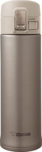 Wide Mouth Thermal Bottle - Zojirushi SM-KHE48NL Stainless Steel Mug, 16-Ounce, Champagne Gold