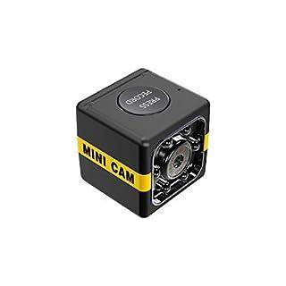 Mini Spy Camera Wireless, Sports HD DV Camera, Hidden 1080P Micro Nanny Motion Detection Camcorder Infrared Night Vision Digital Video Recorder Outdoor Indoor Office (Black)