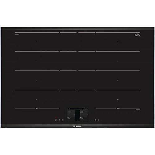 Bosch Serie 8 PXY875KW1E Integrado Con – Placa (Integrado, Con placa de inducción, Vidrio y cerámica, Negro, 400 x 230…