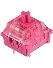 EPOMAKER AKKO CS Custom Series Linear Rose Red, 43gf, 3 Pin Switch, 45 Pieces (AKKO Rose Red)