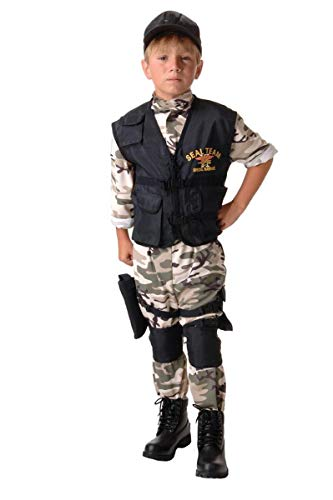 navy seal boy costume - 6