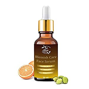 24 Hours Organic Blemish Face Care Serum | Vitamin B3 & E | No Paraben | for Anti Acne Spot Reducing Glowing & Radiant…
