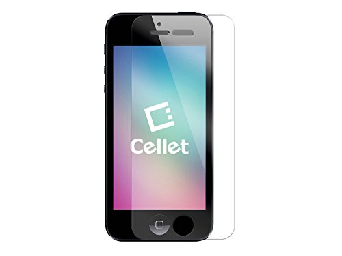 Cellet Ultra-Thin (0.3mm) High Transparency 9H Tempered Glass Screen Protector for Apple iPhone 5/5s/5c
