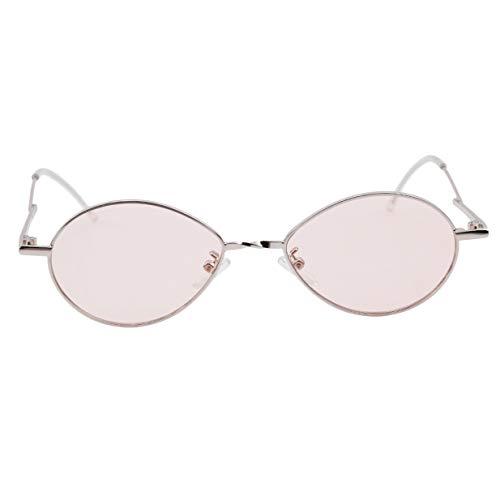 Petit de Lunettes Rétro Rose Femmes Ovale d'été Style Soleil EJY Dames Des pUFwqWI