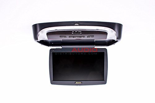 Overhead 10.1 inch LED backlit monitor with built-in side load DVD player