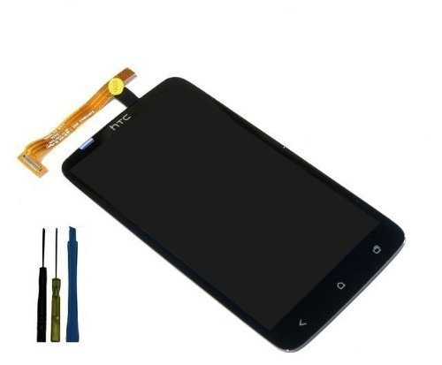 Original OEM Assembly Full LCD Display Screen Touch Digitizer HTC One X - Time Estimate Delivery Mail Usps