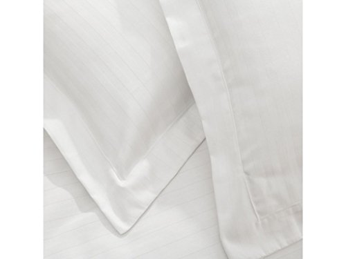 FlyingCart Brand New Hotel White Striped Color 500 Thread Co