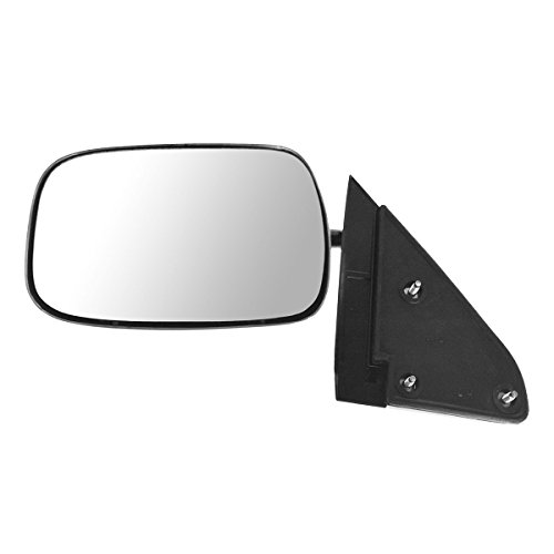 Mirror Side View Manual Stainless Steel Driver Left LH for Chevy GMC Pickup CK