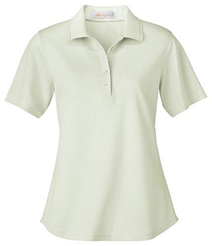 Ash City - Il Migliore 75028 Ladies' Mercerized Pique Polo Celery Mist 828 - Mercerized Polo Jersey