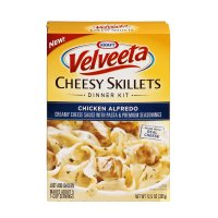 Skillet Pack 2 (Kraft, Velveeta, Cheesy Skillets, Chicken Alfredo, 12.5oz Box (Pack of 2))
