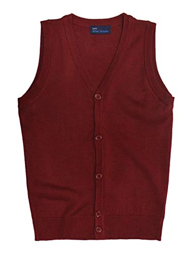 Blue Ocean Kids Cardigan Sweater Vest-16/Large -