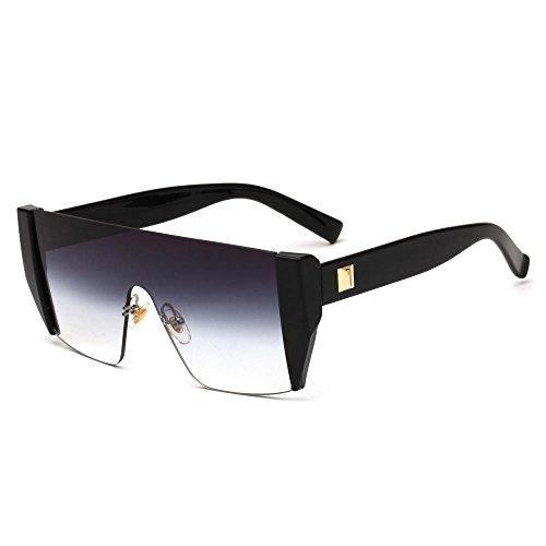 retro sol moda gafas de de Gafas Aoligei gafas de sol sol europeo hombre Color brillantes A wTOBxq