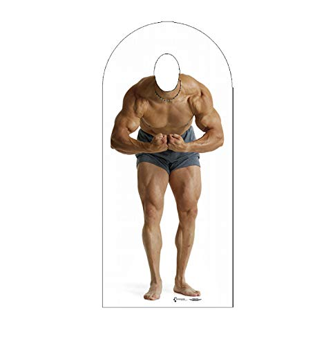Advanced Graphics Muscle Man Stand-In Life Size Cardboard Cutout Standup -