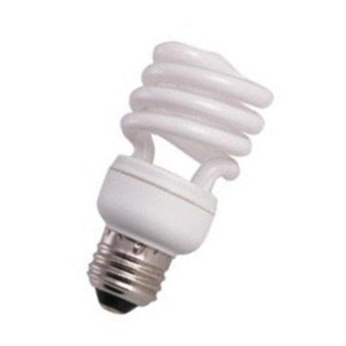 (10 Qty. Halco 13W T2 Spiral 2700K Med ProLume CFL13/27/T2 13w 120v CFL Warm White Lamp Bulb)