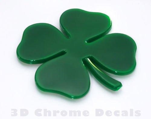 Aplique Trébol 4 hojas Irish Plastic Shamrock Ireland Símbol