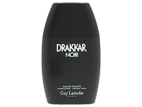 Drakkar Noir By Guy Laroche For Men. Eau De Toilette Spray 3.4 Ounces - German Cologne For Men