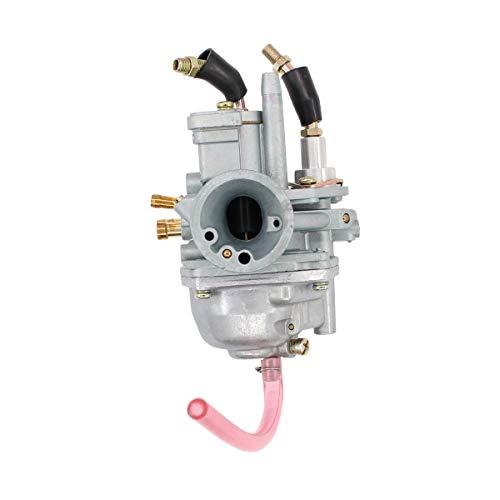 Carb Manual Cable Choke Carburetor for Polaris Predator Scrambler 50 Predator Sportsman 90 ATV]()