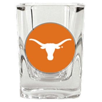 Texas Longhorns Square Shot - Glass Square Shot Longhorns Texas