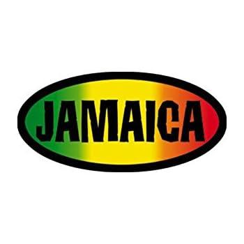Cd 2 jamaica reggae band music bumper sticker decal by superheroes brand