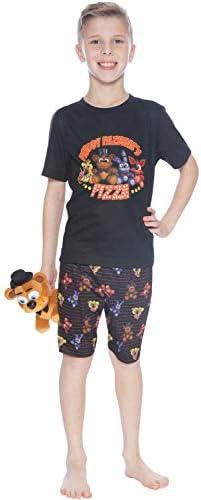 INTIMO 5 Noches en el Freddys Plushy Pizza Pajama Cortos: Amazon.es: Ropa y accesorios