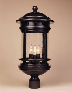 Designers Fountain 2396-ORB Sedona Post Lanterns, Oil Rubbed Bronze by Designers Fountain
