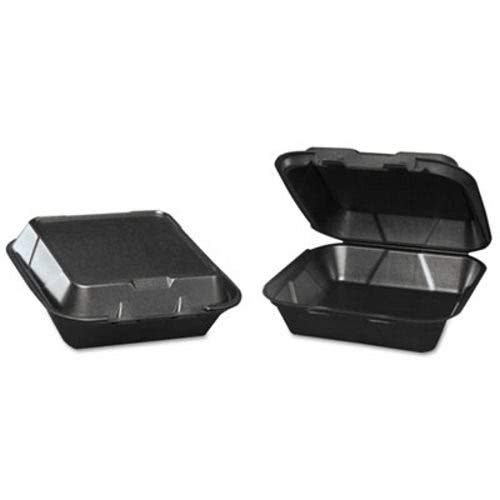 Genpak Snap-It Foam Hinged Carryout Containers, 3