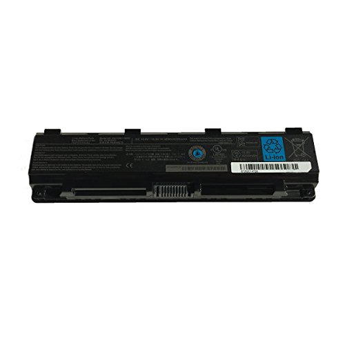 Battery Notebook 1brs Replacement - Battery Pack PA5109U-1BRS PABAS272 Replacement for Toshiba Satellite C50 C55 L70 S70 Series Laptop Notebook Battery 10.8V 4200mAh
