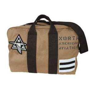 NAA P-51 Flight Kit Bag by Red