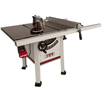 Jet 708675pk xactasaw deluxe 3 horsepower 1ph 50 inch rip fence jet proshop tablesaw with wings and riving knife 708494k jps 10ts cast iron keyboard keysfo Choice Image