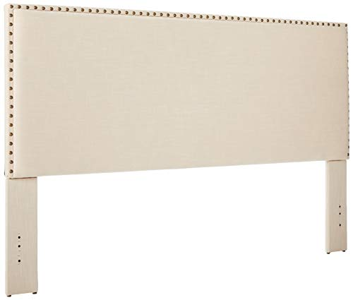 Linon Contempo Headboard, King Natural