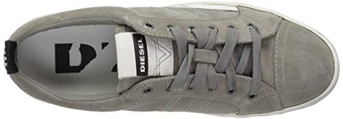 Men's D Diesel Sneaker Lace Grey Low Velows PqAcdq