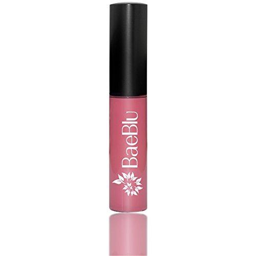 BaeBlu Organic Vegan Lip Gloss, 100% Natural Non-Toxic Moisturizing Ingredients, Tickled