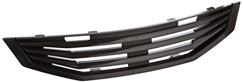 Spec-D Tuning HG-ACD082MU Honda Accord Ex Dx 2 Dr Black Mugen Style Front Hood Grille