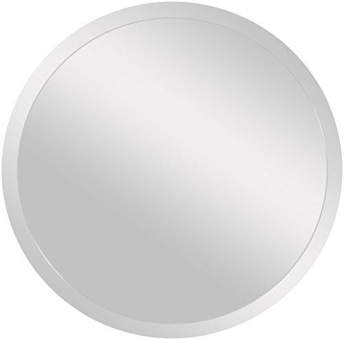 Spancraft Glass Round Beveled Mirror, 36