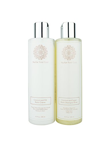 Na.Kar Rose Gold Luxury Collection Shampoo and Conditioner Duo Set ()