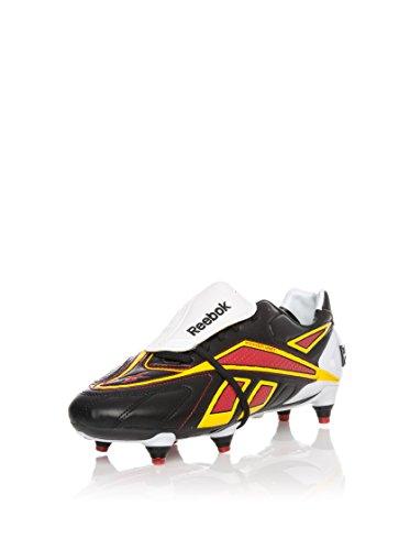 REEBOK Botas de fútbol Valde Plus Sg Negro / Blanco / Amarillo EU 40.5 (US 8)