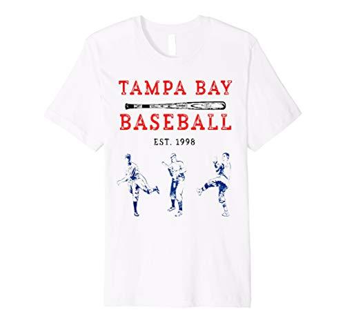 Classic Tampa Bay Baseball Shirt Fan Retro Vintage T-Shirt  Premium T-Shirt