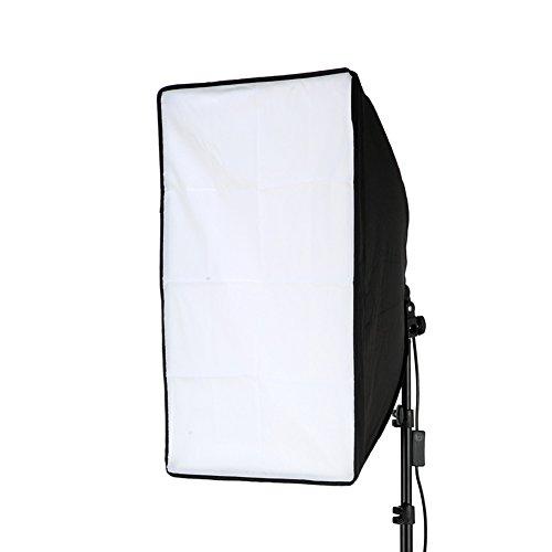 Lightdow 20×28″(50x70cm) Studio Lamp/Light Softbox, 9ft/2.8m Long Cable with E27 Screw Socket (Model Number: LD-DP016)