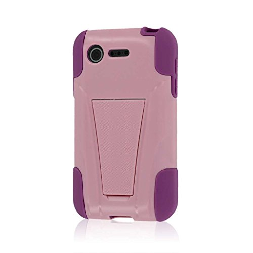 Empire MPERO IMPACT X Series Kickstand Case for LG Optimus Zone 2 / Optimus Fuel VS415 L34C - Retail Packaging - Pink