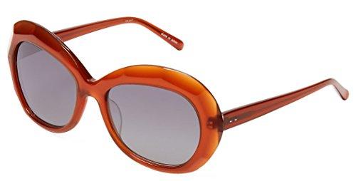 Linda Farrow Luxe 85 Beveled Acetate Jackie-O Frame - Mary Kate Sunglasses