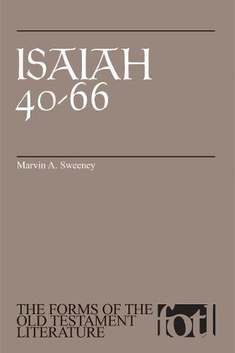 Download Isaiah 40-66 (The Forms of the Old Testament Literature) PDF